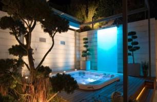 Réalisation spa de luxe | Spa chromathérapie